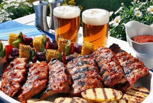 BBQ and beer